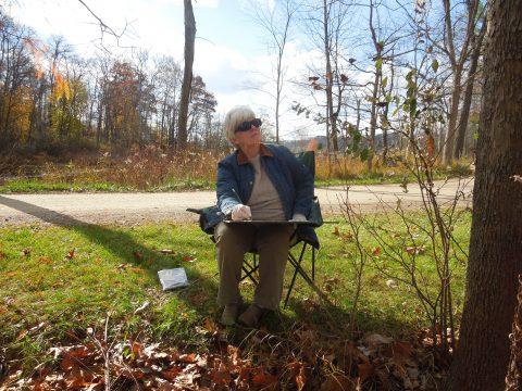 Art Retreat promo at Camp Friedenswald
