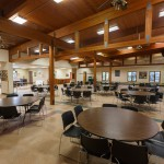 Main dining hall large view at Camp Friedenswald