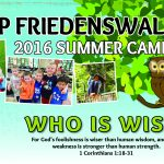 Facebook Summer Banner at Camp Friedenswald