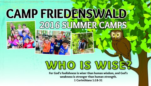Facebook Summer Banner at Camp Friedenswald