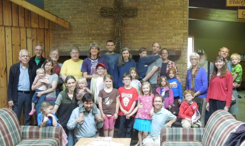 Faith Mennonite Volunteers at Camp Friedenswald