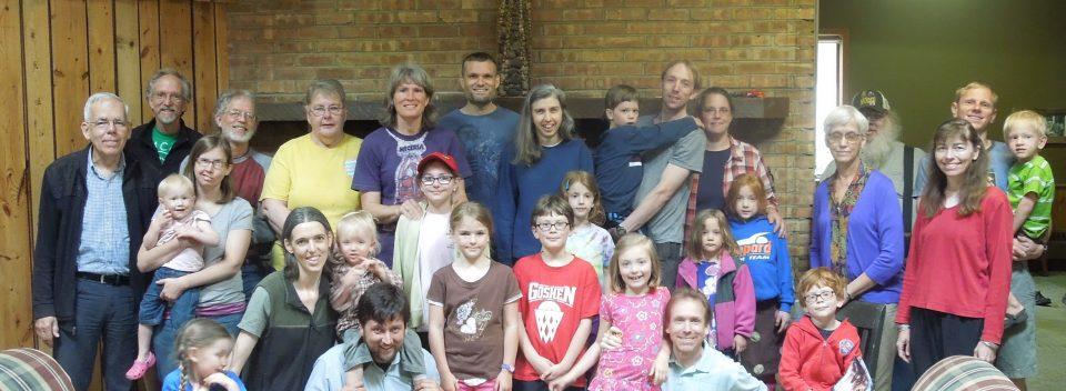Faith Mennonite Volunteers at Camp Friedenswald
