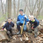 Salem Mennonite kids volunteering
