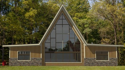 Chapel at Camp Friedenswald after renovations