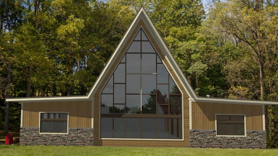 Camp Friedenswald Chapel/Activity Center after renovations